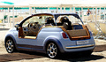 Fiat 500'ün plaj versiyonu