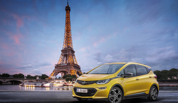 Opel'den yeni elektrikli araba