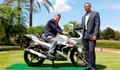 Golften motosiklete geçti