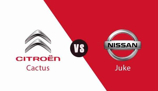Citroen Cactus vs Nissan Juke karşılaştırma