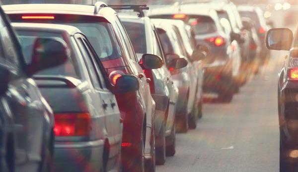 Trafikte büyük artış